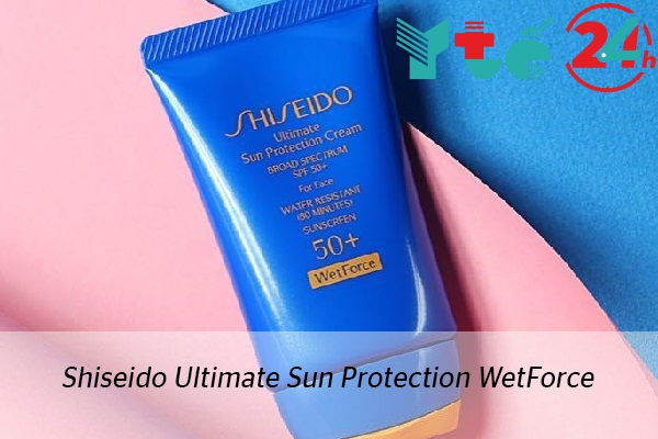 Dòng kem chống nắng Shiseido Ultimate Sun Protection WetForce