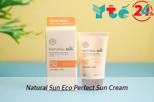 Kem chống nắng Natural Sun Eco Perfect Sun Cream