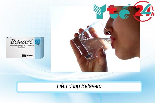 Hướng dẫn sử dụng thuốc Betaserc