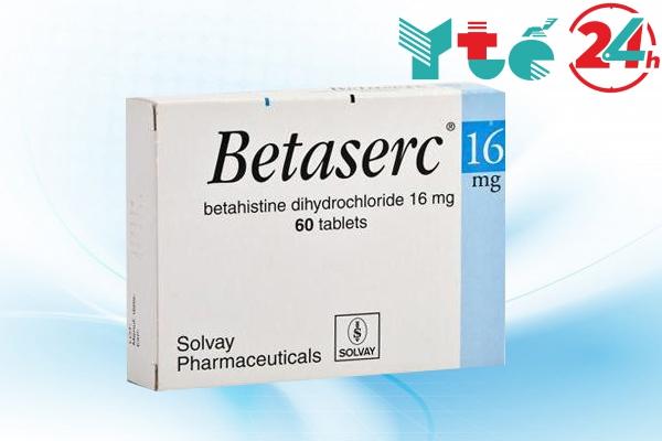 Thành phần và tác dụng thành phần của thuốc Betaserc