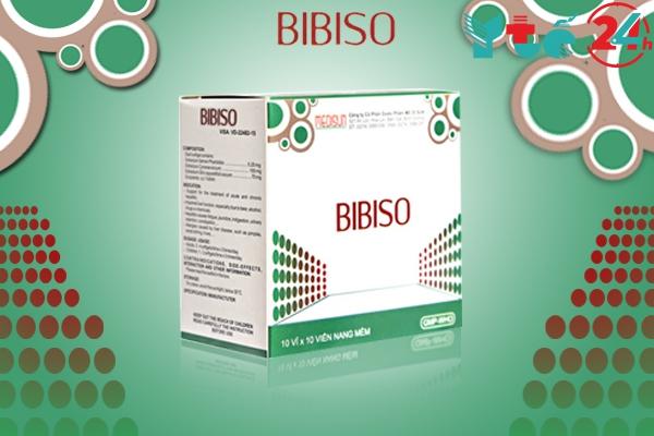 Bibiso là thuốc gì?