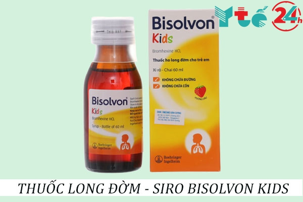 Thuốc long đờm Bisolvon Kids