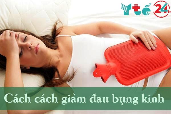 Các cách làm giảm đau bụng kinh