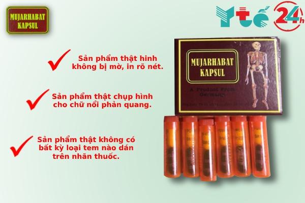 Cách phân biệt thuốc xương khớp Malaysia đỏ thật, giả