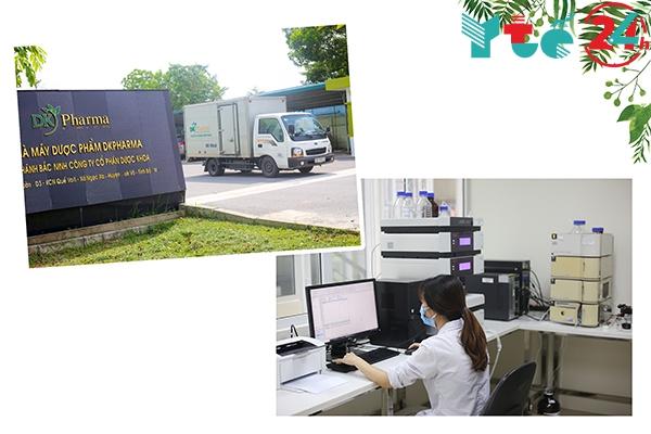 Đơn vị sản xuất Curmilk là Công ty CP Dược Khoa