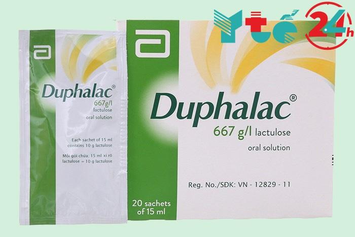 Tác dụng của Duphalac