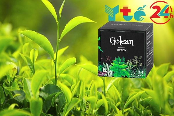 Trà xanh là một thành phần trong trà giảm cân GoLean