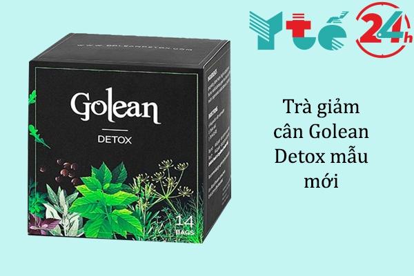 Trà giảm cân Golean Detox mẫu mới