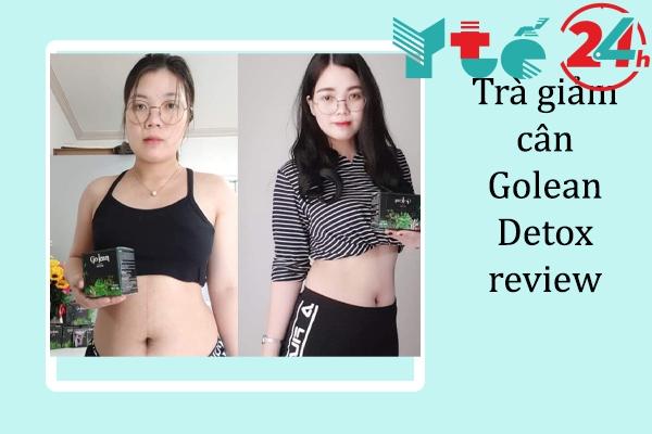 Trà giảm cân Golean Detox review
