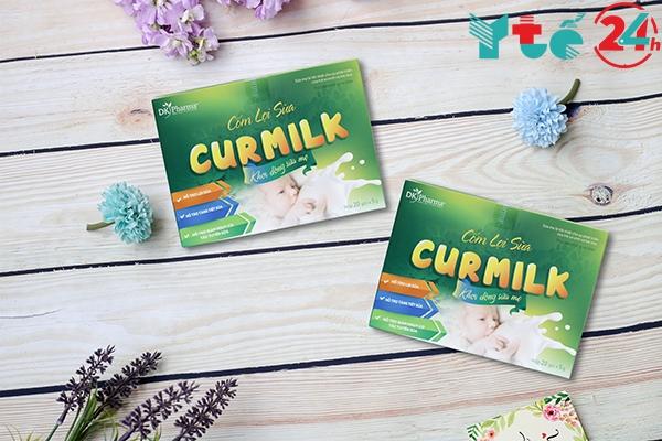 Hình ảnh thực tế cốm lợi sữa Curmilk