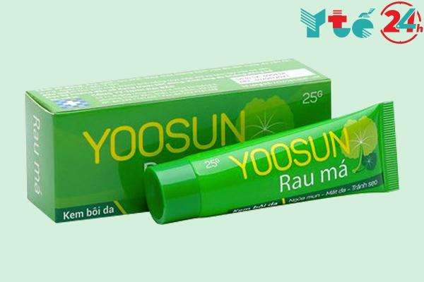 Hộp và lọ Yoosun rau má