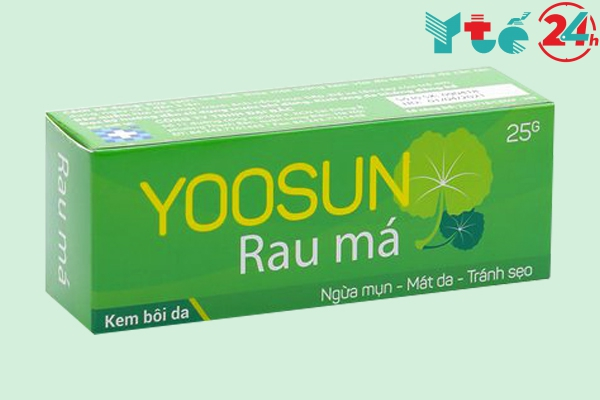 Hộp Yoosun rau má