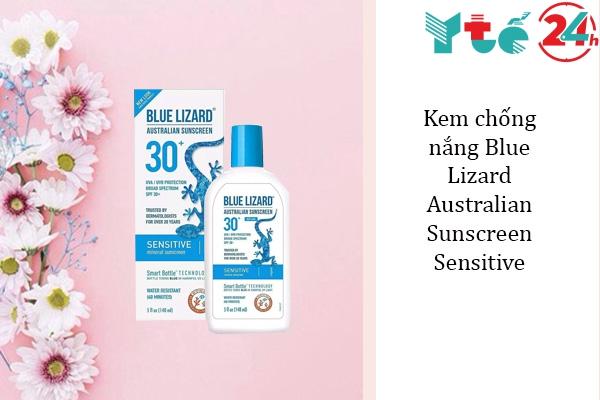 Kem chống nắng Blue Lizard Australian Sunscreen Sensitive