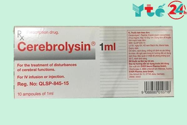 Liều dùng Cerebrolysin đối với từng đối tượng