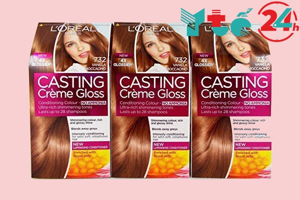 Bảng màu thuốc nhuộm tóc L'Oreal Casting Creme Gloss