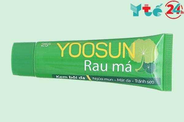 Mặt trước lọ Yoosun rau má