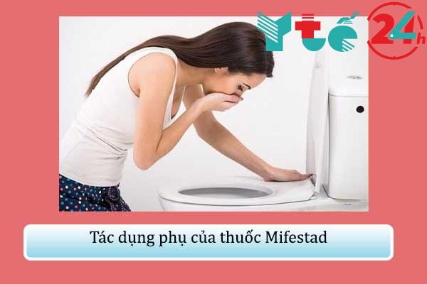 Tác dụng phụ của thuốc Mifestad