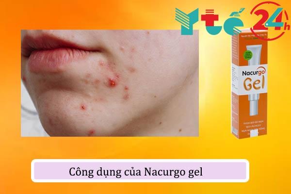 Công dụng của Nacurgo gel