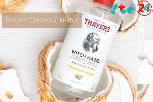 Nước hoa hồng Thayer Coconut