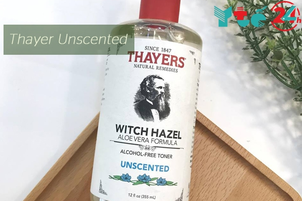 Nước hoa hồng Thayer Unscented