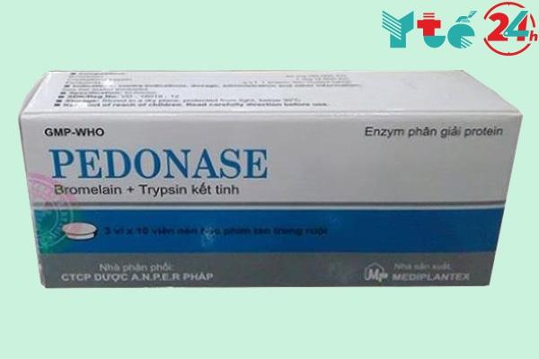 Pedonase là thuốc gì?
