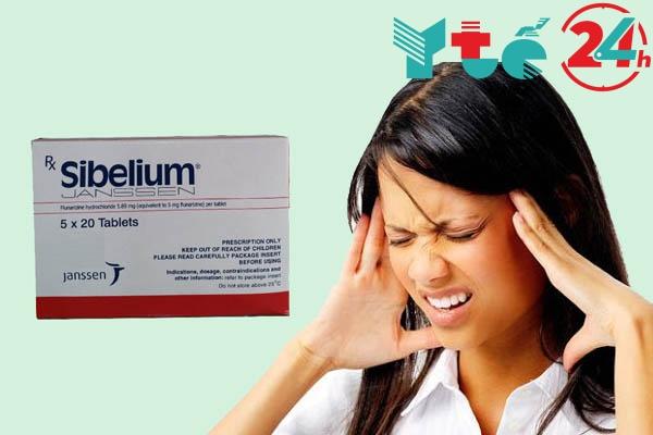 Sibelium có tác dụng gì?