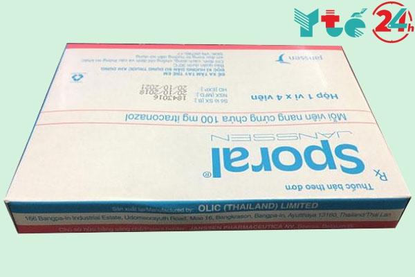 Chống chỉ định khi dùng thuốc trị nấm Sporal Janssen