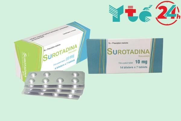 Surotadina có những tác dụng gì?