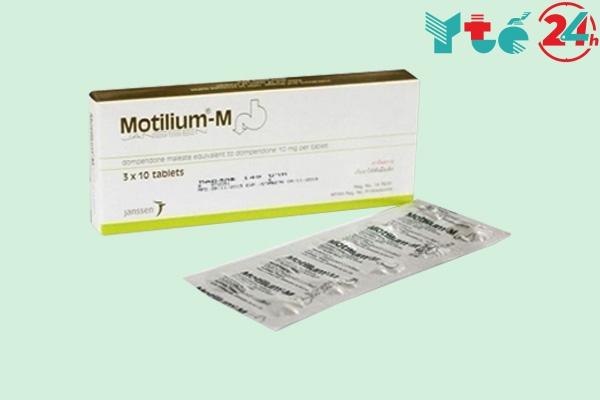 Tác dụng phụ của Motilium - M