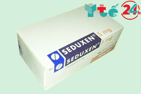 Tác dụng phụ của Seduxen