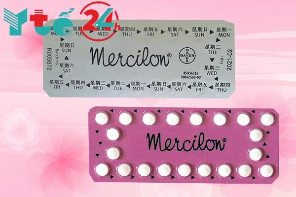 Chống chỉ định thuốc Mercilon