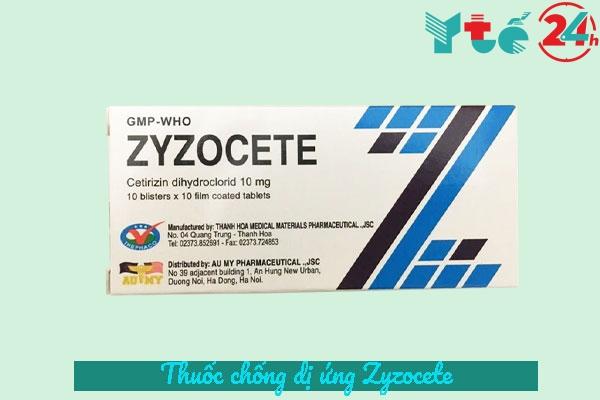 Thuốc Zyzocete là thuốc gì?