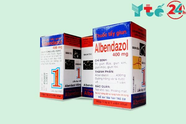 Thuốc tẩy giun quả núi Albendazol