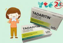 Tadaritin là thuốc gì?