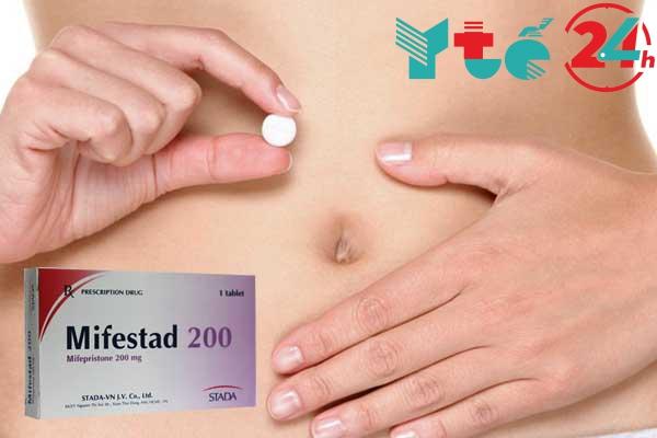 Sử dụng thuốc phá thai Mifestad 200 cần lưu ý gì?