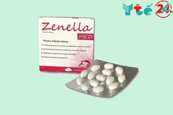 Zenella MED màu hồng là sản phẩm bán trực tiếp tại cơ sở ở Việt Nam