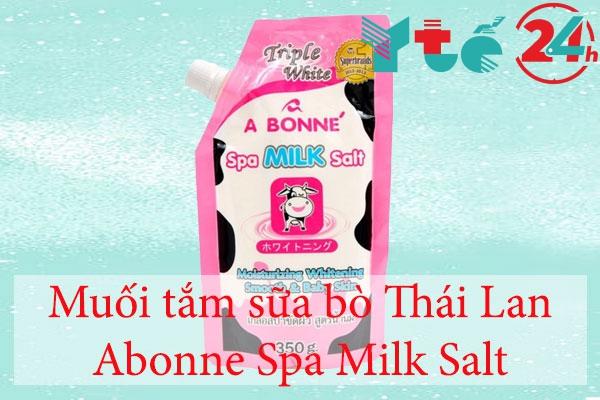 Muối tắm sữa bò Thái Lan Abonne Spa Milk Salt