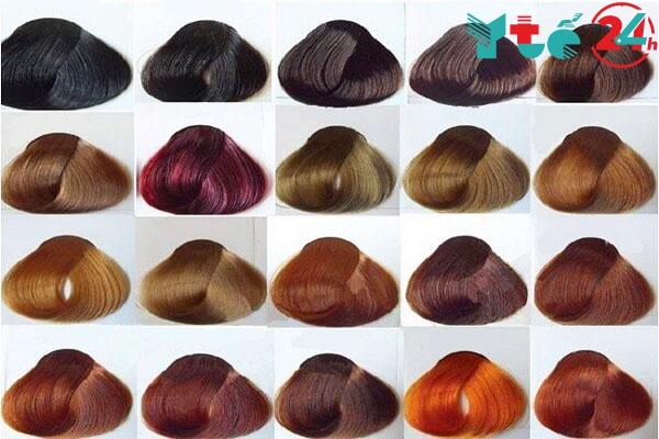 Bảng màu của thuốc nhuộm tóc L'oreal