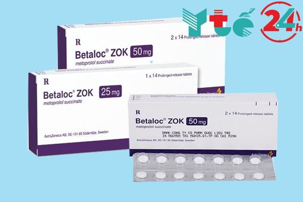 Hướng dẫn sử dụng thuốc Betaloc zok 25mg: