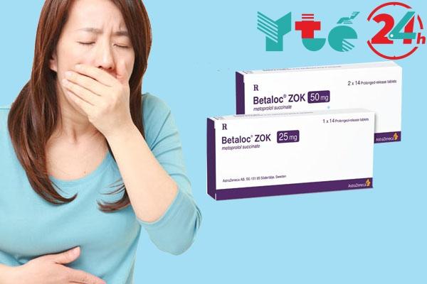 Tác dụng phụ khi sử dụng thuốc Betaloc zok