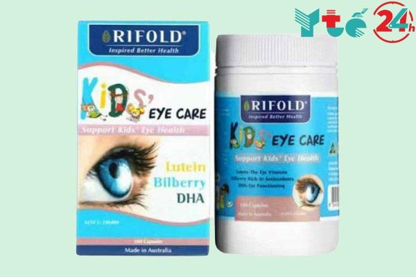 Viên uống bổ mắt cho bé Rifold Kids Eye Care
