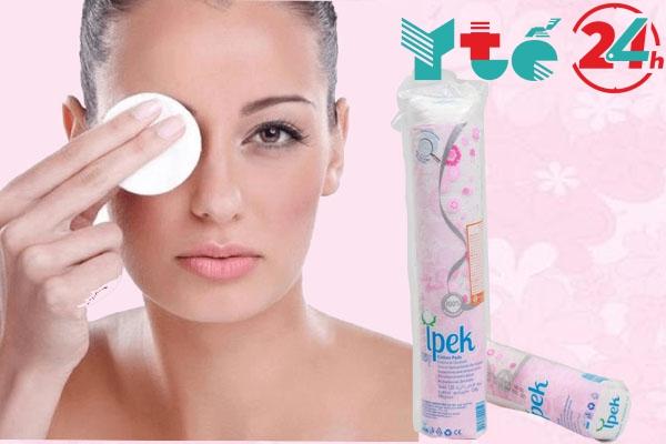 Bông tẩy trang Ipek Thổ Nhĩ Kỳ review từ người tiêu dùng.