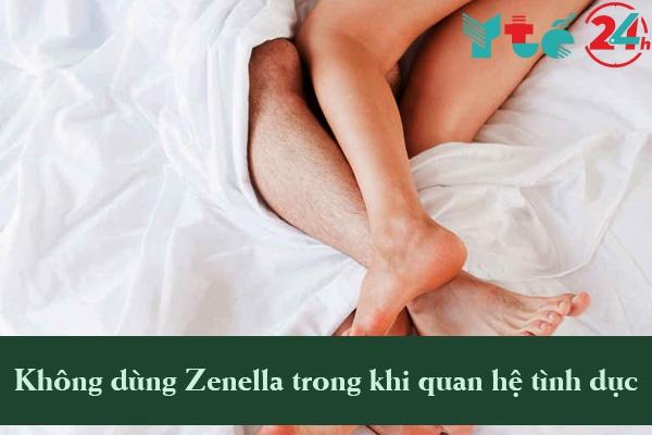 Các trường hợp không nên dùng Zenella MED