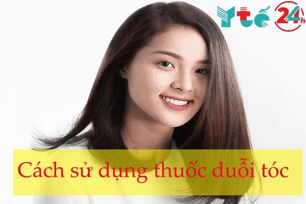 Cách sử dụng thuốc duỗi tóc