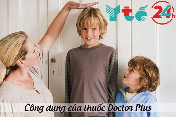 Công dụng của thuốc tăng chiều cao Doctor Plus