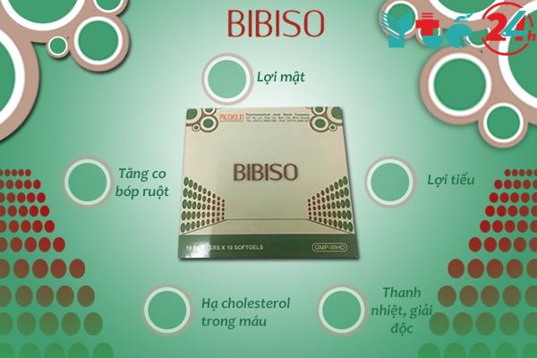 Công dụng nổi bật của thuốc Bibiso