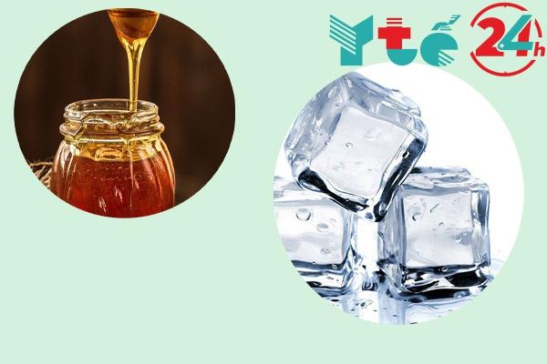 Cách giảm ngứa vùng kín bằng đá lạnh và mật ong