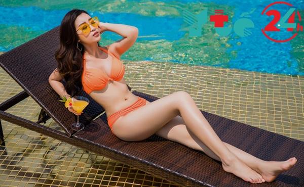 Đỗ Mỹ Linh khoe thân hình nóng bỏng qua bộ bikini