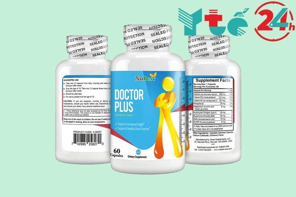 Doctor plus - Sản phẩm giúp tăng chiều cao hàng đầu ở Mỹ