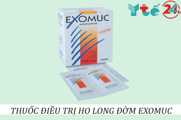 Thuốc long đờm Exomuc